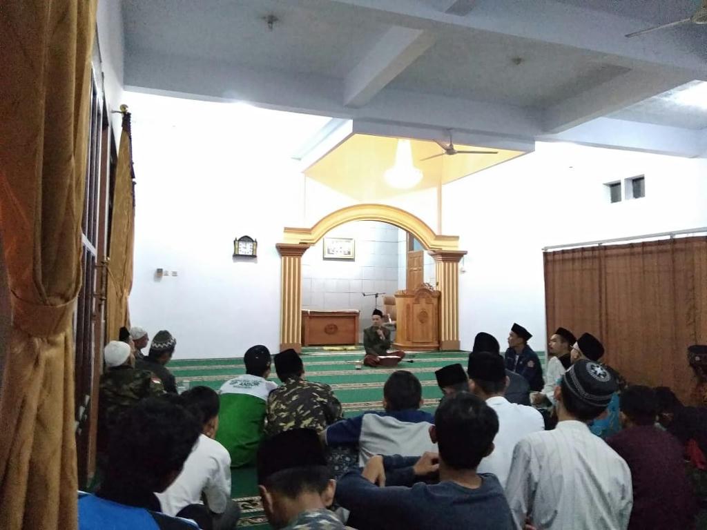 Ansor Mangkubumi bersama Karang Taruna Perkuat Pemahaman Aswaja